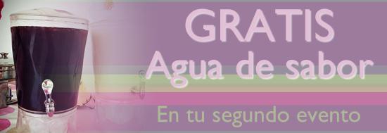 AGUA DE SABOR GRATIS